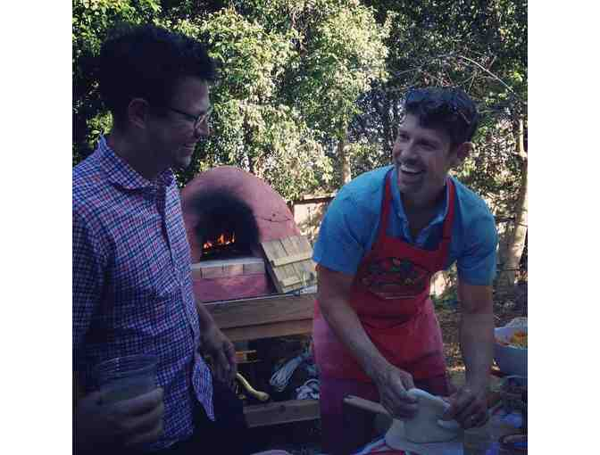 Wood Fire Oven Pizza Making Class and Party hosted by The Givler Family ($30 for TWO)