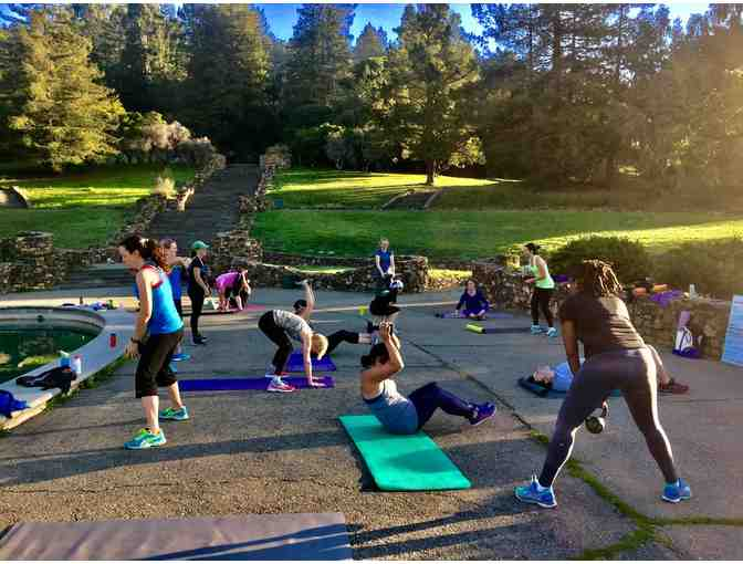 8 week Saturday Power Hour session from Balanced Fitness for Moms