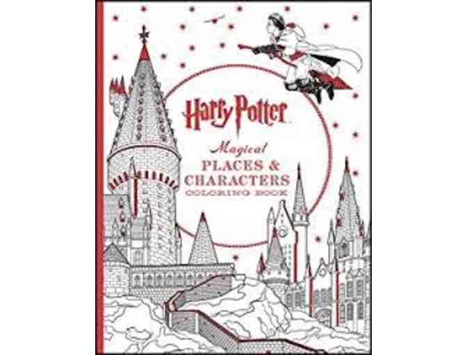 Harry Potter & Mary Engelbreit Coloring Book Kits with colored pencils and markers