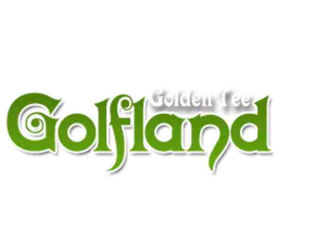 Miniature Golf for THREE at Golden Tee Golfland