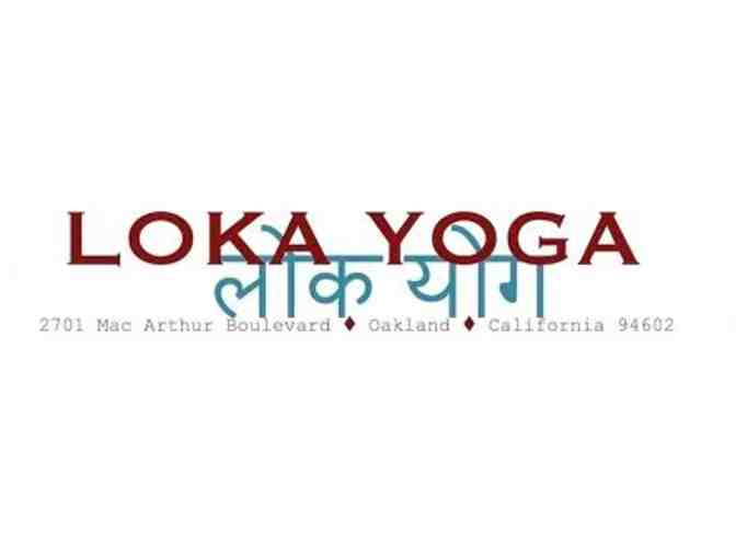 5 class pass - Loka Yoga (1 of 2)