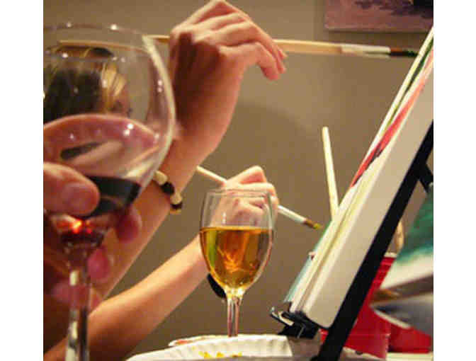 Paint and Pinot Evening with Ms. J & the Roddy Family