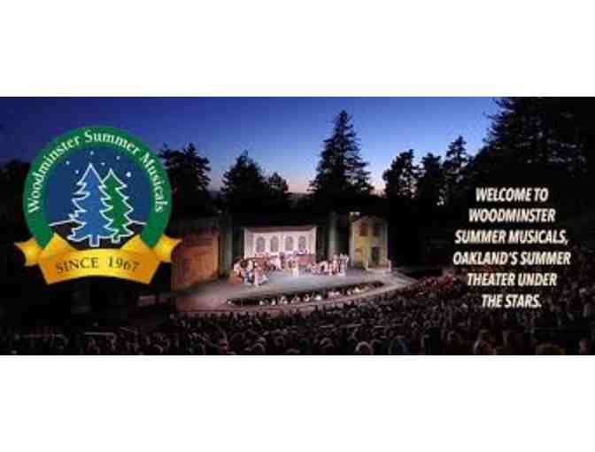Two tickets to Woodminster Summer Musicals