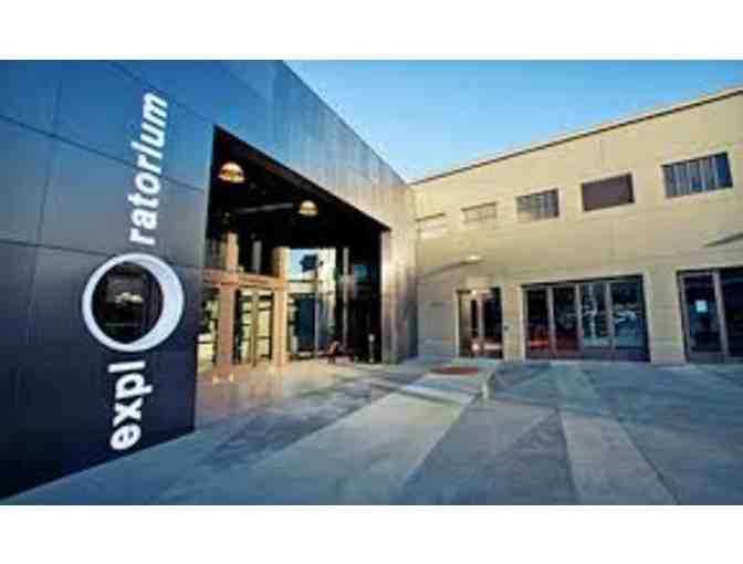 2 Exploratorium General Admission Tickets