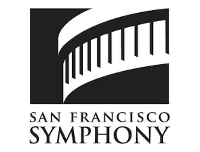 Two tickets for Tetzlaff Plays Mozart with Pre-Concert Talk with SF Symphony!