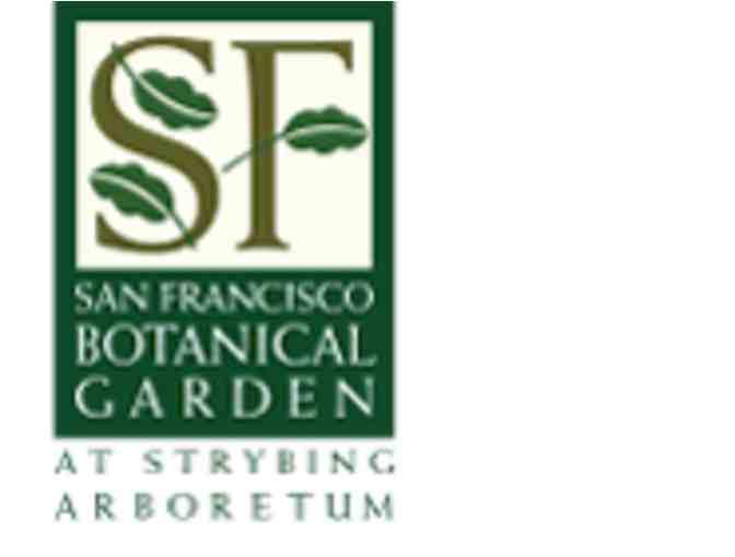 Admission for six to the SF Botanical Garden or Member Garden Parties