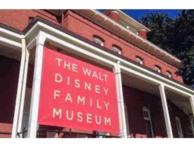 2 Admission Tickets to Walt Disney Family Museum + 8 Tickets to Film Screenings