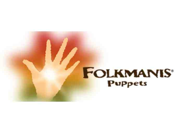 Folkmanis Stage Puppets--Crocodile & Dog