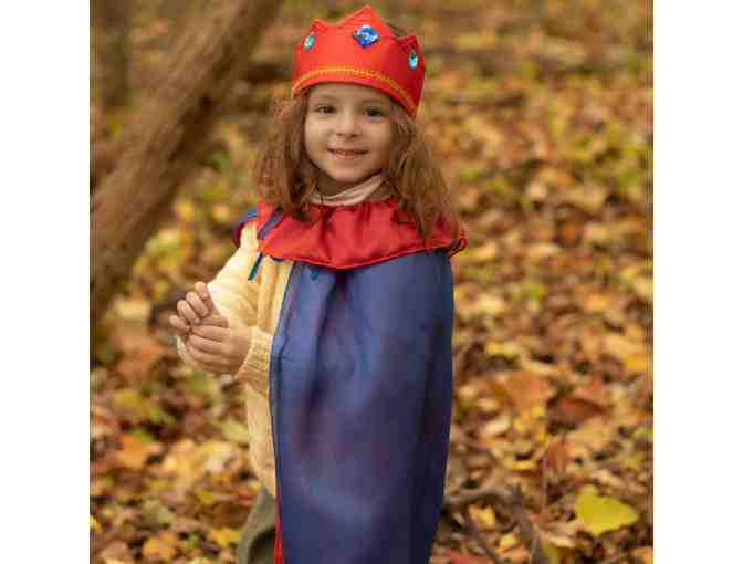 Sarah's Silks - Silk Cape and Crown playset