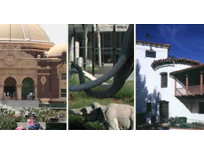 4 Tickets to La Brea Tar Pits or The Natural History Museum of LA County