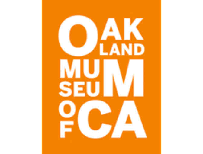 4 passes to the Oakland Museum of California