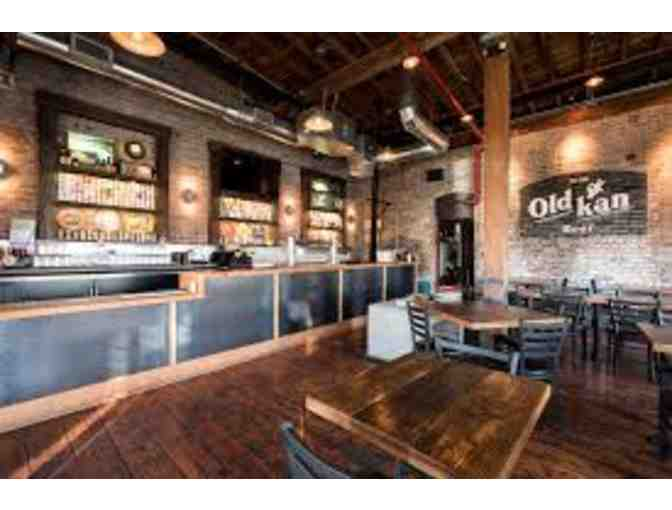 $50 Gift Certificate to Old Kan Beer & Company
