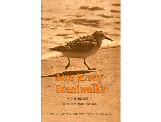 New Jersey Coastwalks, by Dery Bennett with maps and illustrations by Marie Levine
