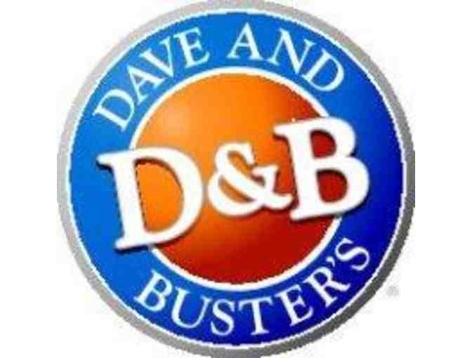Dave and Buster's - PROVIDENCE - $25 Be Our Guest Certificate