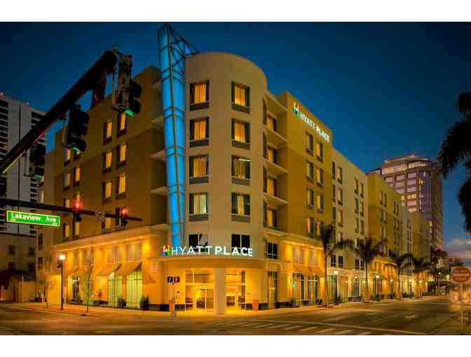 Free Night at The Hyatt Place West Palm Beach/Downtown
