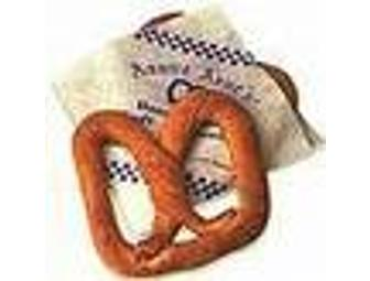 Auntie Anne's Pretzels: Eight pretzels (one of each flavor).
