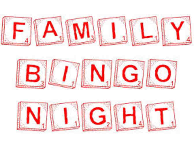 2019 Family Bingo Night!