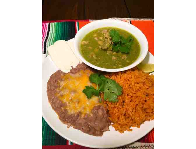 Authentic Mexican Dinner for Six (6) with Father Brown