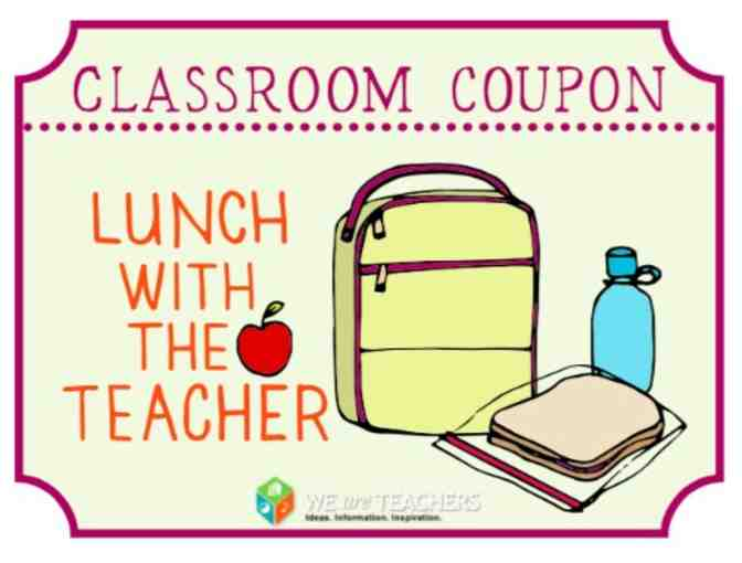 Lunch with Your Teacher - MR SPARKS