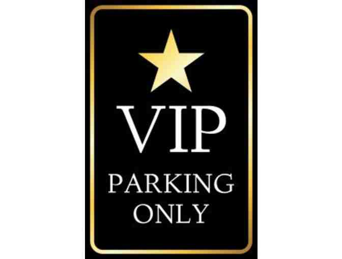 School VIP Parking Space