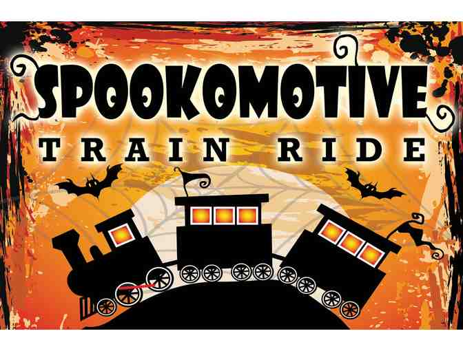 Four (4) FIRST CLASS Tickets to 'Spookomotive'