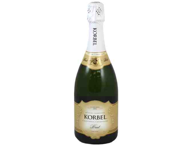 6 Bottles of Korbel Brut Champagne
