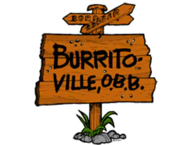 $50 Burritoville Cafe Gift Certificates (2x$25) - Photo 1