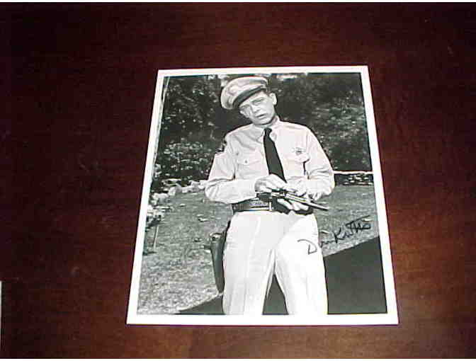 Don Knotts Autographed Photo