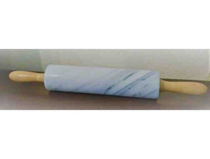 Gray Marble Rolling Pin