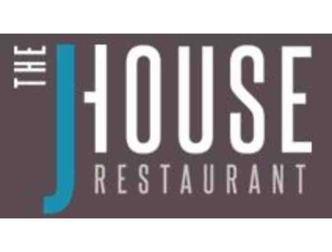 J House Restaurant Gift Card, Greenwich, CT
