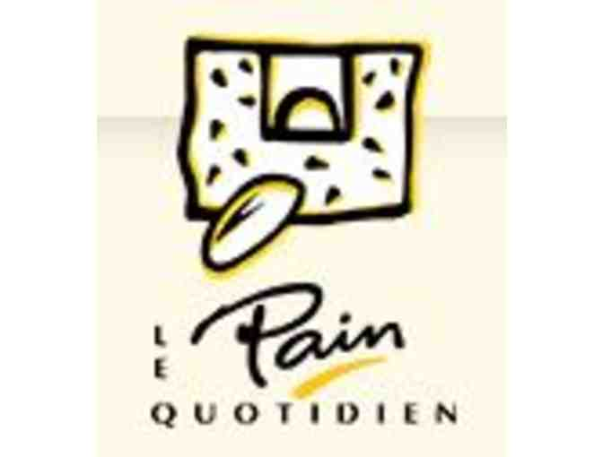 GIft Basket from le Pain Quotidien