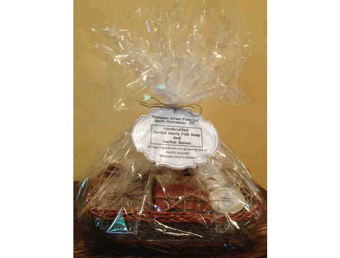 Gift Basket of Soaps from Thompson Street Farm