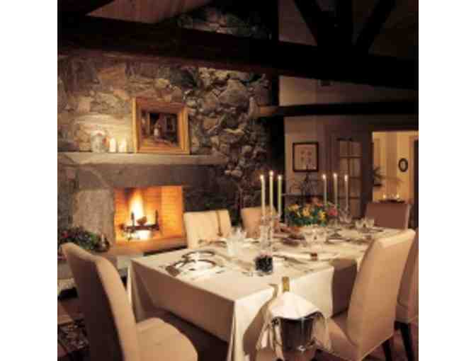 Winvian- Three Course Dinner for 2, Litchfield, CT