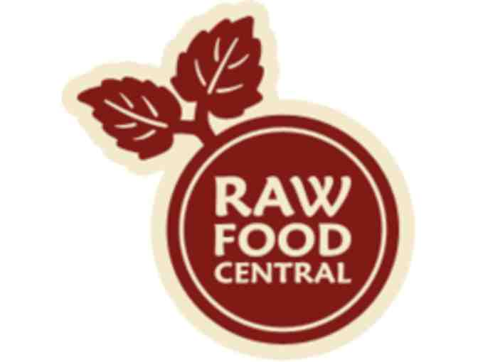 Raw Food Central- One Case of Raw Snacks- Kale Chips, Onion Rings, Flax and Snack Mix
