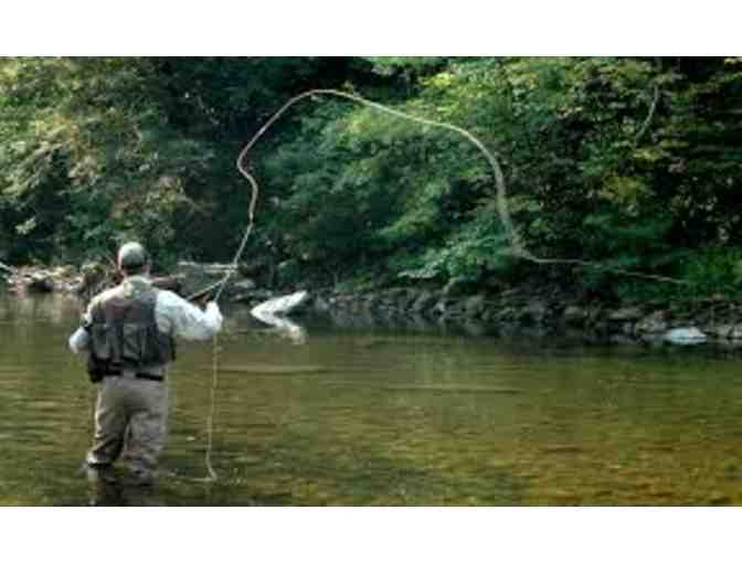 Day of Trout Fly Fishing for 2 with ESPN Medalist Foster Goodrich