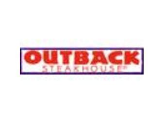 Outback Steakhouse Tuckaway Dining Certificate