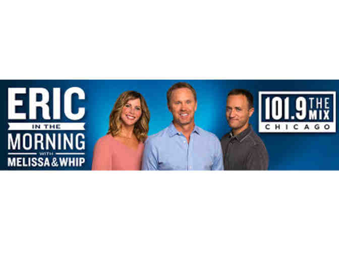 Eric in the Morning with Melissa and Whip Show Experience for 4 people