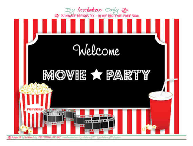 Movie and Craft Party with the K-2 teachers, Thursday, April 5th
