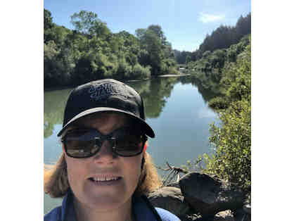 Glamping at the Russian River with Private Beach, Wine & Personal Chef Janet Sheehan