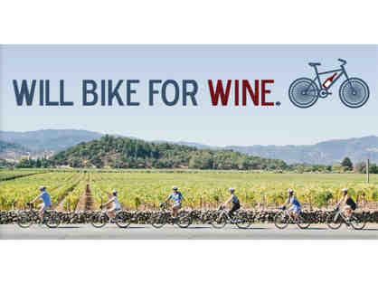 Classic Half-Day Napa Valley Bike Tour for TWO (2) from Napa Valley Bike Tours