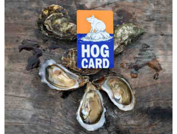 $100 Gift Card to Hog Island Oyster Co. - Photo 1