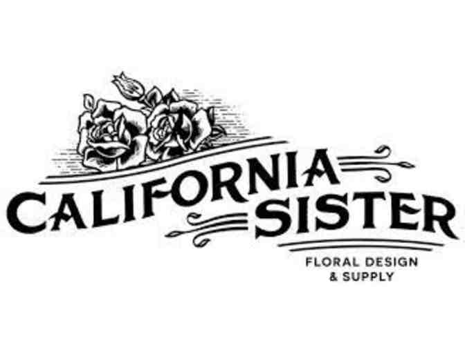 $20 Gift Certificate to California Sister Floral Design - Photo 1