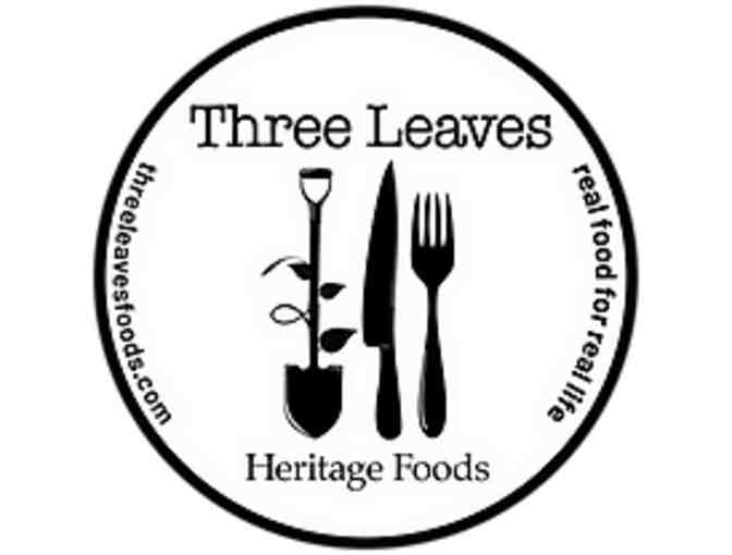 $100 Gift Card for Three Leaves Heritage Foods - Photo 1