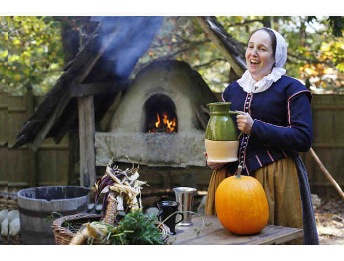 EAT LIKE THE PILGRIMS AT A PLIMOTH HARVEST DINNER FOR TWO