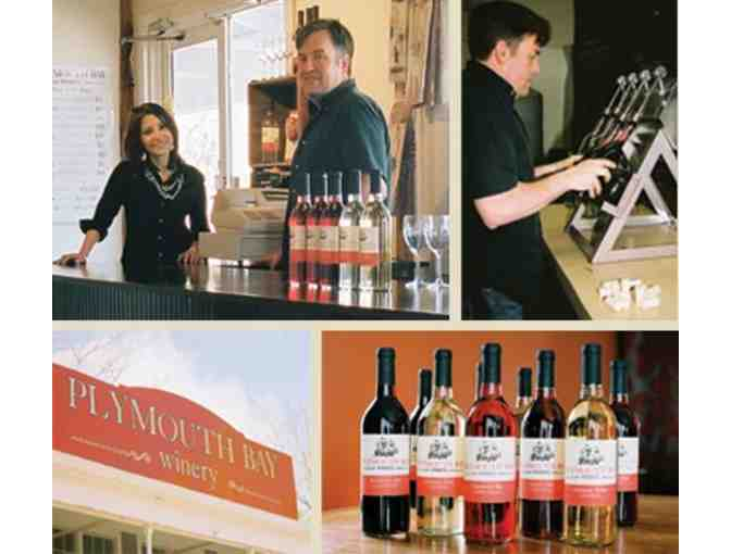 WINE TASTING FOR FOUR - Plymouth Bay Winery