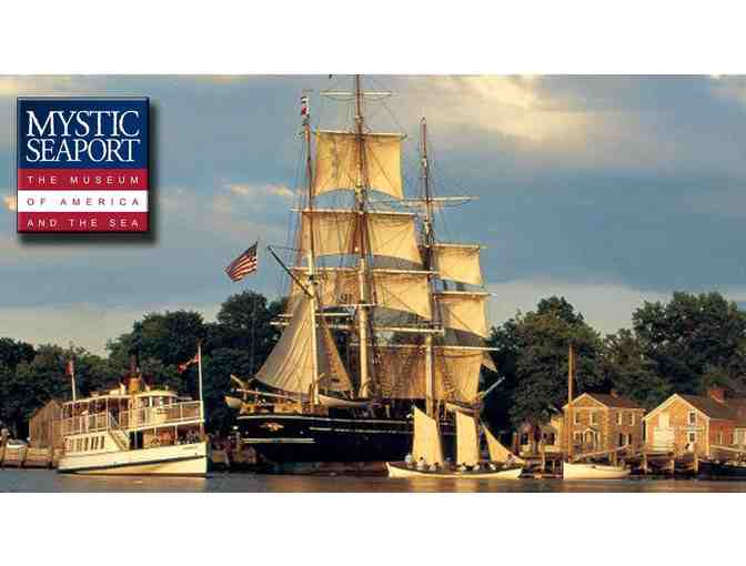MYSTIC SEAPORT MUSEUM - A Fun Day for Four