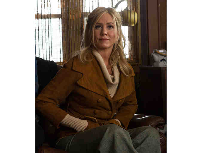 Jennifer Aniston Suede Jacket from 'Life of Crime', premiering at TCFF '14!
