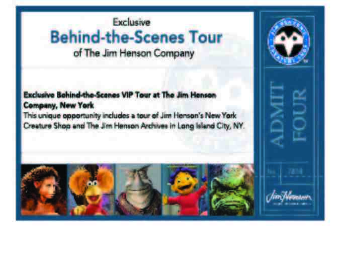 Private Tour of The Jim Henson Company in NYC & signed mini-poster from 'Being Elmo'
