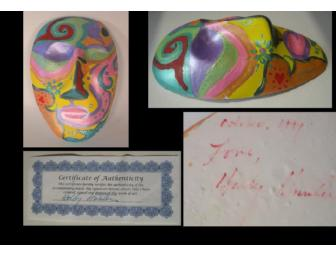 Clay Mask Hand-Painted by Holly Hunter