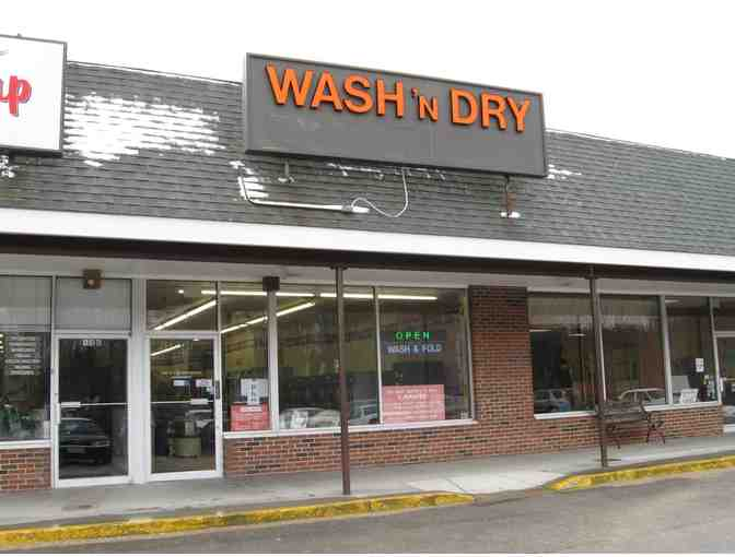 $50 gift certificate for wash-dry-fold service